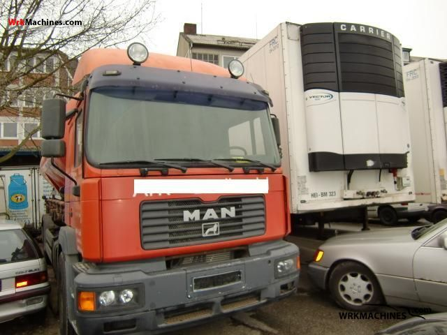 2000 MAN NG 263 Truck over 7.5t Tank truck photo