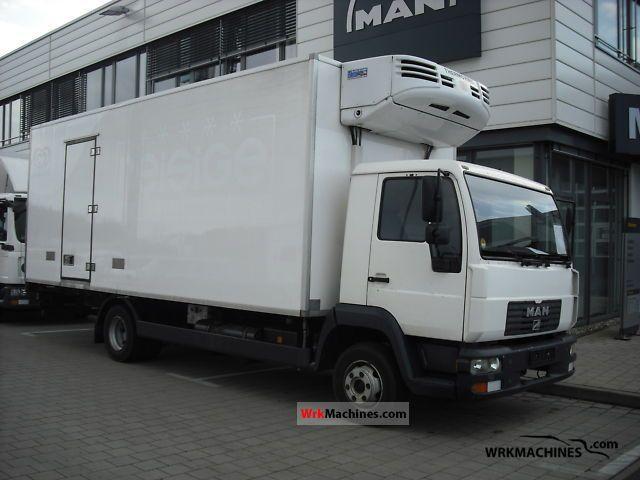 2002 MAN L 2000 10.185 Truck over 7.5t Refrigerator body photo