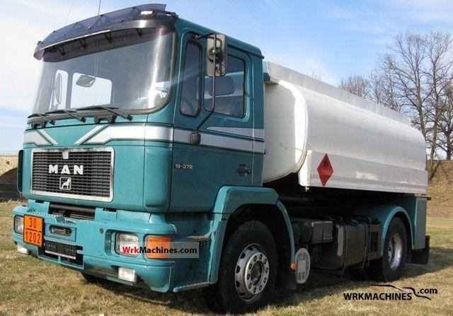 1994 MAN F 90 19.372 Truck over 7.5t Tank truck photo