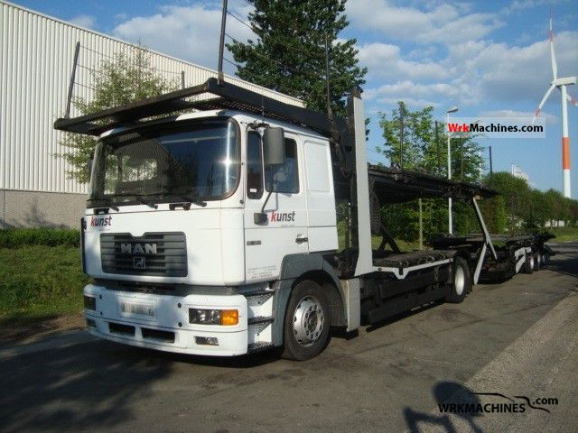 2000 MAN F 2000 19.364 Truck over 7.5t Car carrier photo