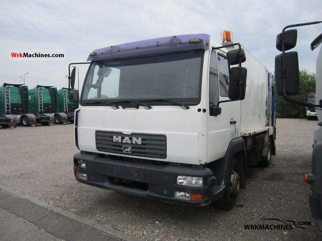 2003 MAN L 2000 10.185 Truck over 7.5t Refuse truck photo