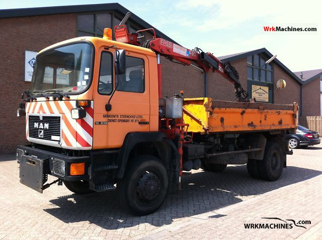 1993 MAN M 90 18.232 Truck over 7.5t Tipper photo