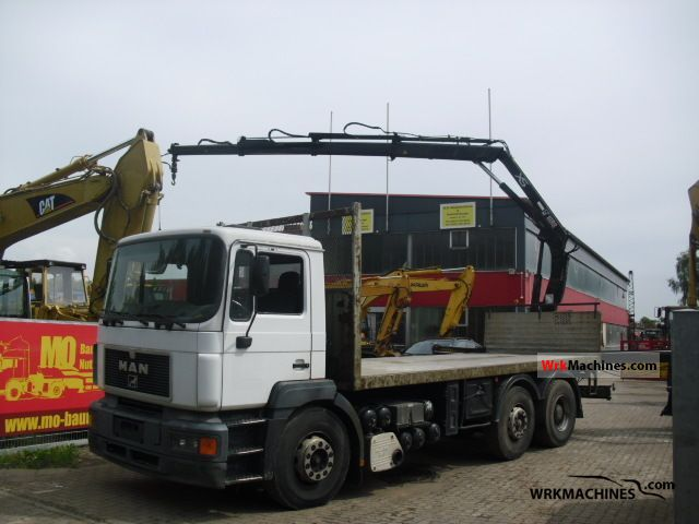1997 MAN F 2000 26.343 Truck over 7.5t Stake body photo