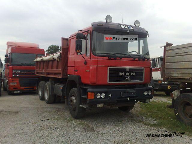 1994 MAN F 90 26.372 Truck over 7.5t Tipper photo
