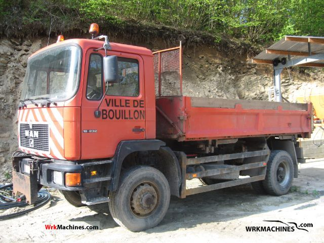 1996 MAN M 90 18.232 Truck over 7.5t Mining truck photo