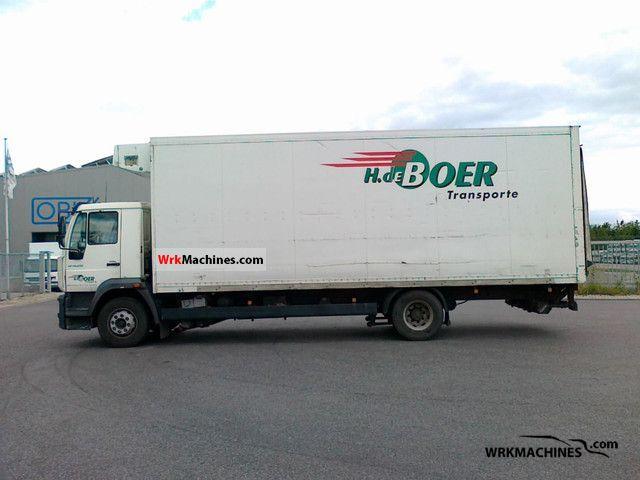 2003 MAN M 2000 L 250 Truck over 7.5t Refrigerator body photo