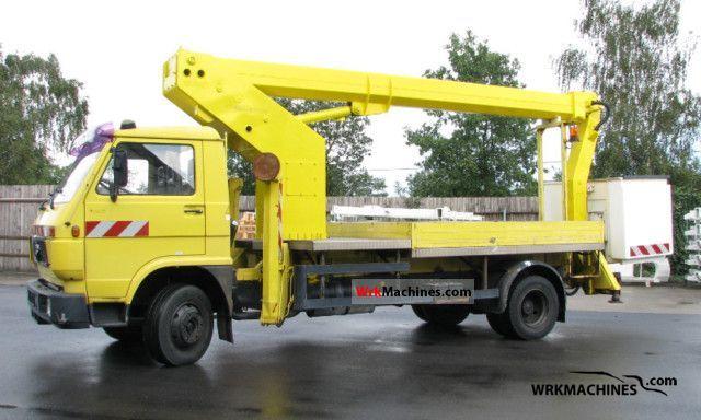 1992 MAN G 90 8.150 Van or truck up to 7.5t Hydraulic work platform photo