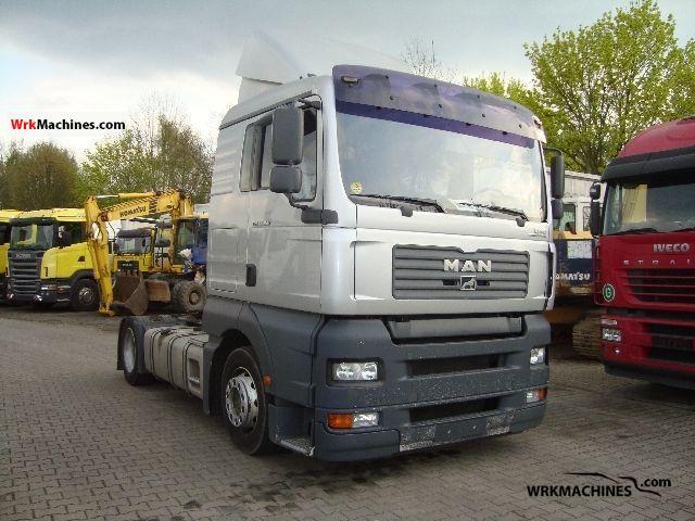 2005 MAN TGA 18.350 Semi-trailer truck Standard tractor/trailer unit photo