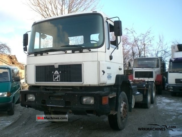 1993 MAN LION´S STAR 422 Truck over 7.5t Tipper photo