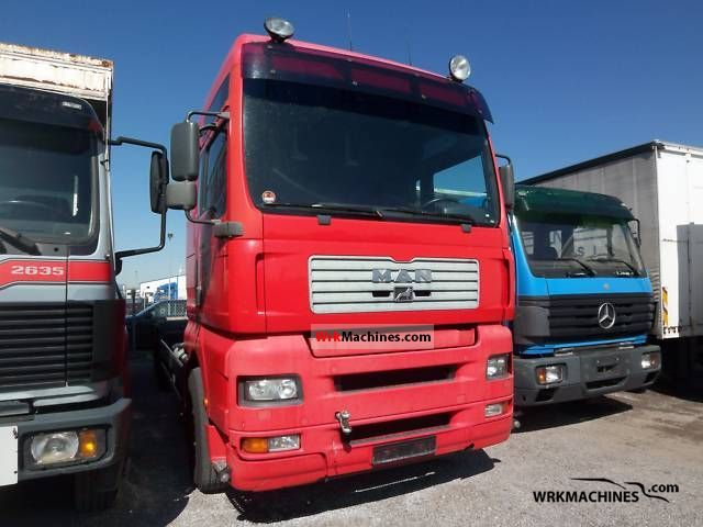 2001 MAN TGA 26.460 Truck over 7.5t Swap chassis photo