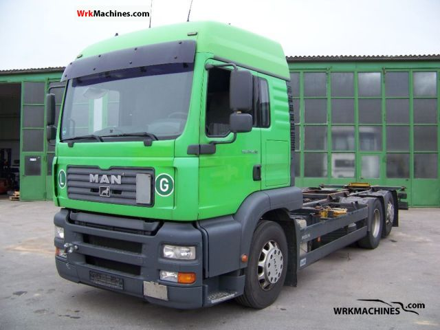 2005 MAN TGA 26.430 Truck over 7.5t Swap chassis photo