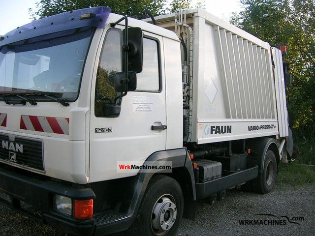2000 MAN M 2000 L 12.163 Truck over 7.5t Refuse truck photo