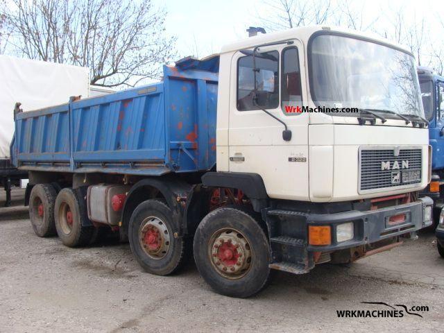 1994 MAN F 90 35.322 Truck over 7.5t Tipper photo