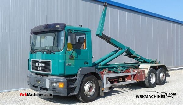 1997 MAN F 2000 26.403 Truck over 7.5t Roll-off tipper photo