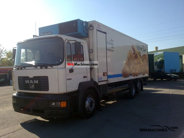 2000 MAN NG 263 Truck over 7.5t Refrigerator body photo