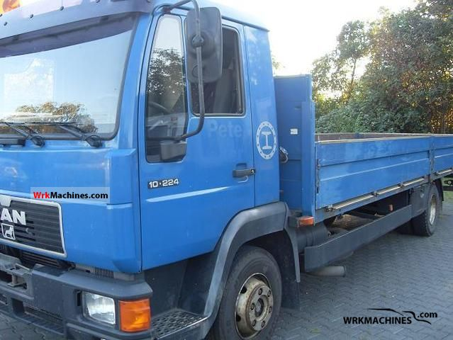 1997 MAN L 2000 10.224 Truck over 7.5t Stake body photo