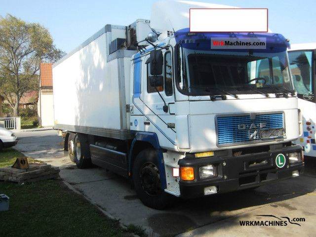 1994 MAN F 90 26.402 Truck over 7.5t Refrigerator body photo