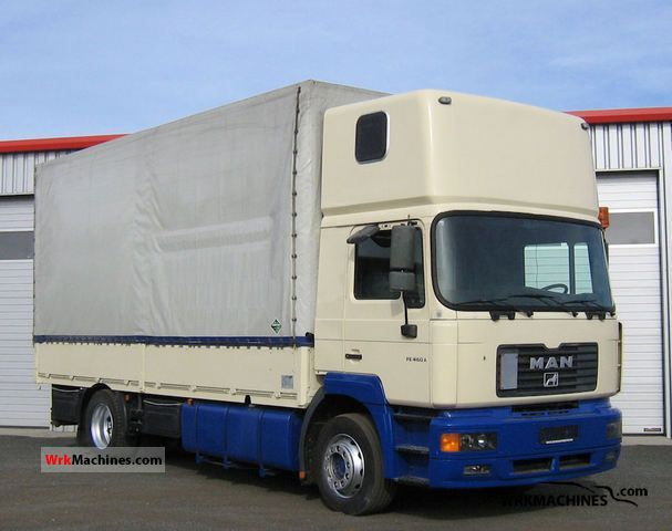 2001 MAN F 2000 19.464 Truck over 7.5t Stake body and tarpaulin photo