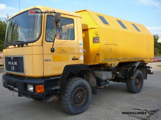 1994 MAN M 90 12.192 Truck over 7.5t Box photo