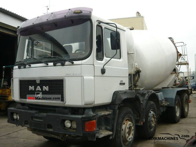 1993 MAN F 90 35.322 Truck over 7.5t Cement mixer photo