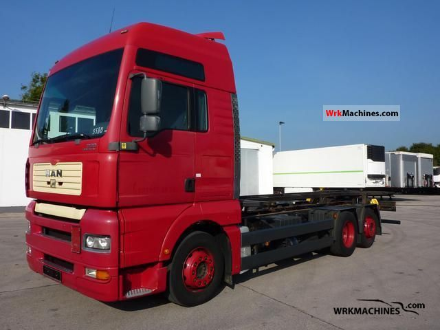 2004 MAN TGA 26.430 Truck over 7.5t Swap chassis photo