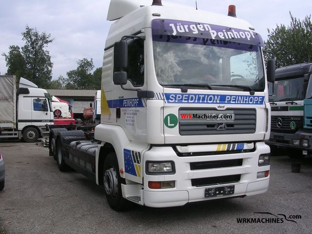 2002 MAN TGA 26.413 Truck over 7.5t Swap chassis photo
