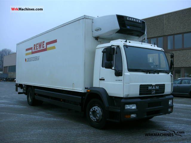 2002 MAN M 2000 L 18.285 Truck over 7.5t Refrigerator body photo