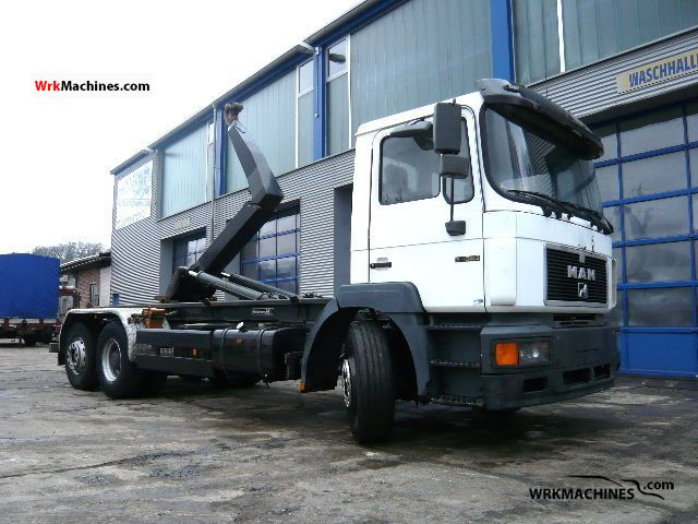 1995 MAN F 2000 26.343 Truck over 7.5t Roll-off tipper photo