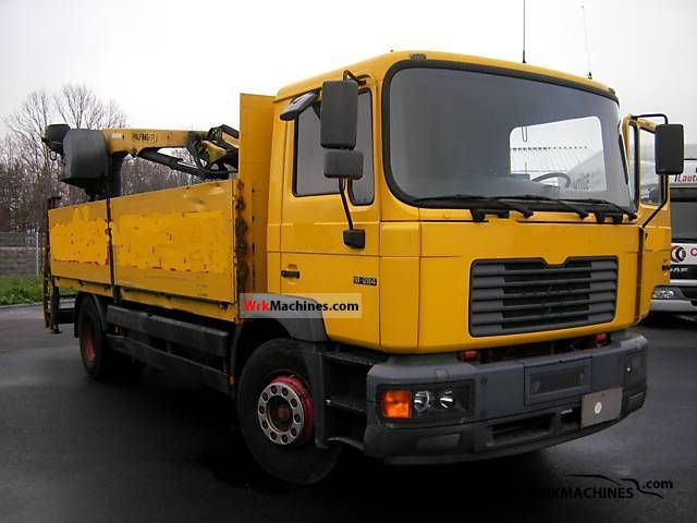 1999 MAN M 2000 L 18.284 Truck over 7.5t Truck-mounted crane photo