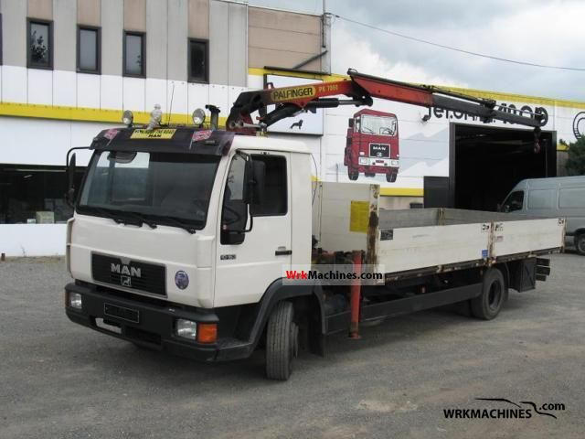1996 MAN L 2000 10.163 Truck over 7.5t Truck-mounted crane photo
