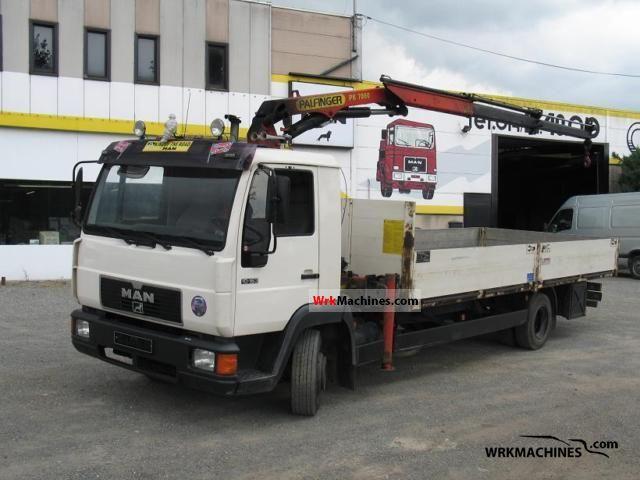 1996 MAN L 2000 10.163 Truck over 7.5t Truck-mounted crane photo