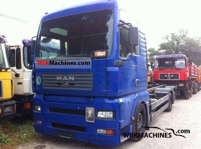 2004 MAN TGA 26.480 Truck over 7.5t Swap chassis photo
