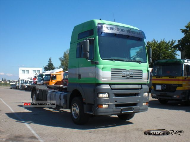 2002 MAN TGA 18.410 Truck over 7.5t Swap chassis photo