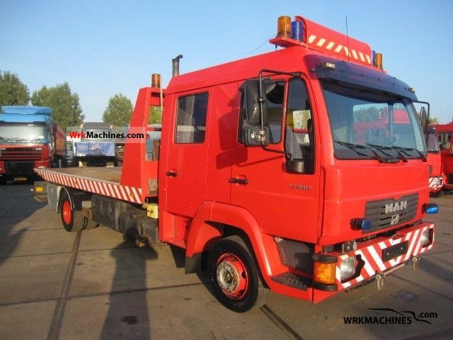 2002 MAN L 2000 10.185 Truck over 7.5t Car carrier photo