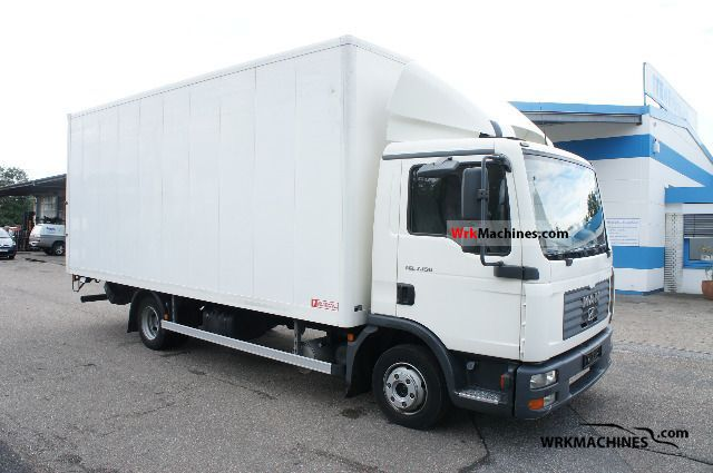 2005 MAN TGL 7.150 Van or truck up to 7.5t Box photo