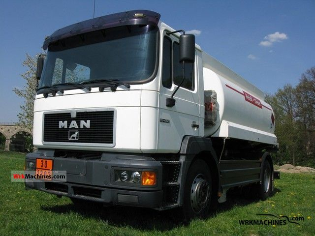 1996 MAN F 2000 19.403 Truck over 7.5t Tank truck photo