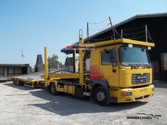 2002 MAN M 2000 L 280 Truck over 7.5t Car carrier photo