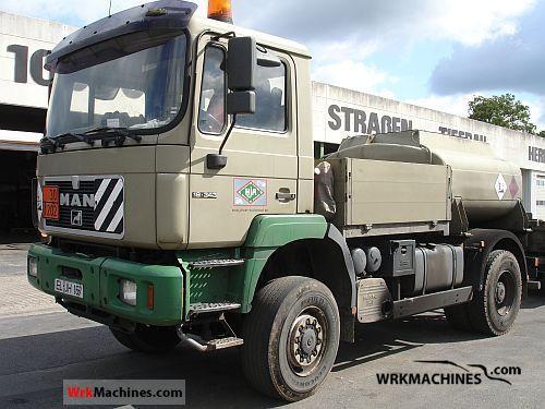 1997 MAN F 2000 19.343 Truck over 7.5t Tank truck photo