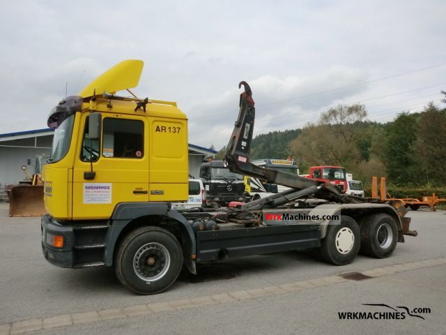 1997 MAN LION´S COACH 403 Truck over 7.5t Roll-off tipper photo
