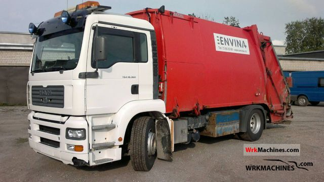 2004 MAN TGA 18.360 Truck over 7.5t Refuse truck photo