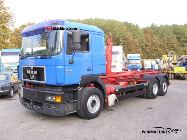 1998 MAN F 2000 26.403 Truck over 7.5t Roll-off tipper photo