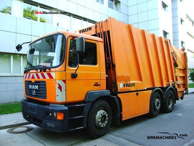 2000 MAN M 2000 M 25.264 Truck over 7.5t Refuse truck photo