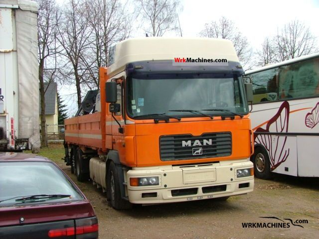 1999 MAN F 2000 26.463 Truck over 7.5t Stake body photo