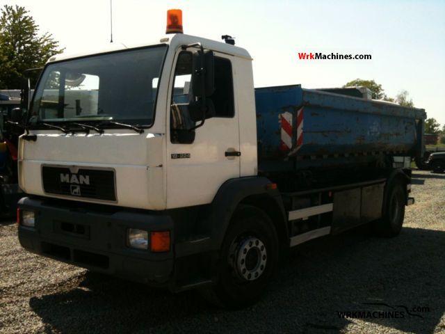 1999 MAN M 2000 L 18.224 Truck over 7.5t Roll-off tipper photo