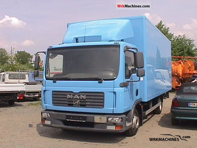2007 MAN TGL 7.150 Van or truck up to 7.5t Box photo