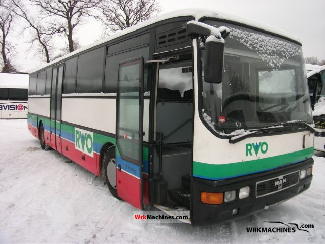 1997 MAN ÜL ÜL 313 Coach Cross country bus photo