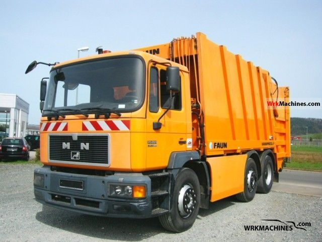 1997 MAN M 2000 M 25.264 Truck over 7.5t Refuse truck photo