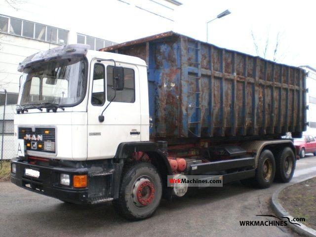 1994 MAN F 90 26.422 Truck over 7.5t Dumper truck photo