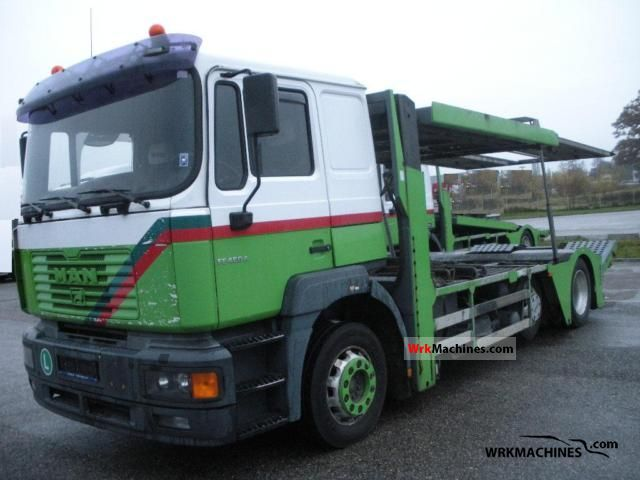 2002 MAN F 2000 19.464 Truck over 7.5t Car carrier photo