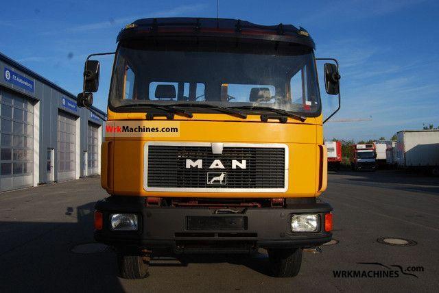 1994 MAN M 90 17.222 Truck over 7.5t Tipper photo